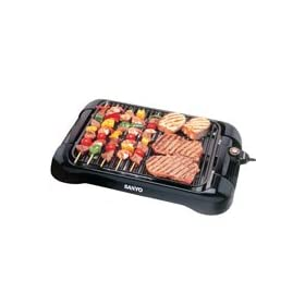 Sanyo Indoor Barbecue Grill 200 Square Surface