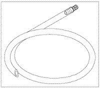 1409203 Drain Hose Kit FOR M7 Autoclave Ea Midmark Corporation -002-0653-00