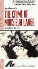 The Crime of Monsieur Lange [VHS] [Import]