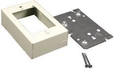 Wiremold 751029 V500-V700 Device Box Steel Ivory