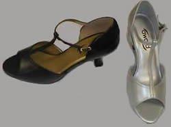 Latin T-Strap Ballroom Dance Shoe