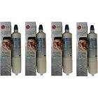 4 x Genuine LG LT600P Fridge Water Filter