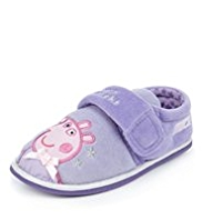 Peppa Pig Riptape Slippers