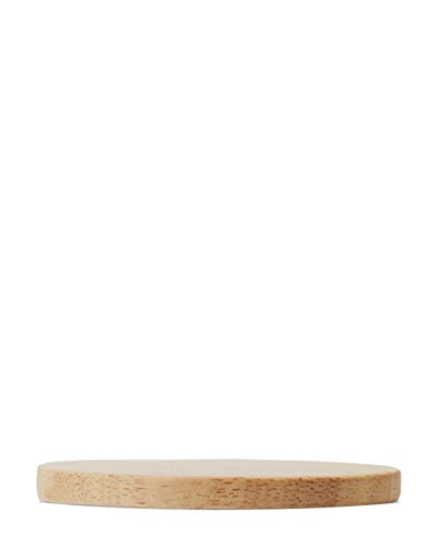 Tasse en porcelaine dESIGN lETTERS en bois naturel pour couvercle