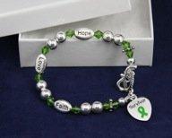 Green Ribbon Bracelet- Survivor Bracelet (18 Bracelets)