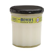 Mrs Meyers Clean Day Lemon Verbena Soy Candle, 7.2 Ounce -- 6 per case.