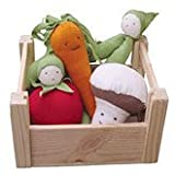 Under the Nile Organic Cotton Veggies in a Crate