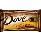 Dove Silky Smooth Promises Caramel & Milk Chocolate, 7.94 Ounce Bag (Pack of 4)