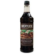 Monins True Brewed Espresso Concentrate - 1 L Bottle, 4 Bottles Per Case