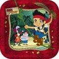 Lowest Price! Jake and the Never Land Pirates Disney Birthday Party Dessert Plates