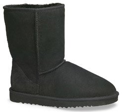 UGG Men's Classic Short Boots 5800,Black,10 US