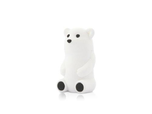 Bone Collection 【USBメモリー8GB おもしろUSB】 Bear Driver ホワイト 8GB DR11051-8W