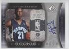 Hakim Warrick #833 Memphis Grizzlies (Basketball Card) 2005-06 SP Authentic #109 by SP+Authentic