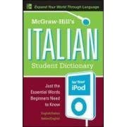 [McGraw-Hill's Italian Student Dictionary for your iPod (MP3 CD-ROM + Guide) (Mcgraw-Hill Dictionary)]
