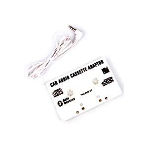 Car Audio Tape Cassette Adapter for MP3 Players
