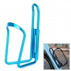 Bike Bicycle Aluminum Alloy Water Bottle Holder Bracket - Blue front-1033477