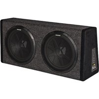 Kicker 11Phd12 Dual 12 Subs & 200-Watt Amp In H