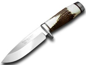 HEN & ROOSTER AND Genuine Deer Stag Bowie Hunting Knife Knives