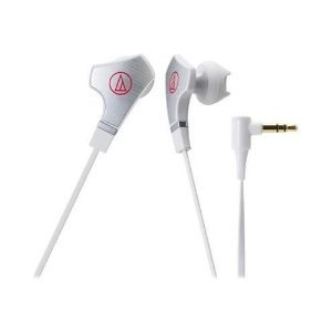 Audio-Technica ATH-CHX7 SonicFuel Hybrid Earbud Headphones ( earphone ) Stereo-White-Mini-phone-Wired-16 Ohm - 15 Hz-22 kHz-Gold Plated - Earbud - Binaural - In-ear - 3.94 ft Cable [parallel import goods]