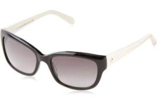 Kate Spade Sunglasses - Johanna / Frame: Black Ivory Lens: Gray Gradient-Johannas0807
