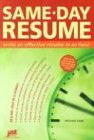 Same-Day Resume: Write an Effective Resume in an Hour (1593570058) by J. Michael Farr