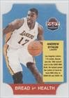 Andrew Bynum Los Angeles Lakers (Basketball Card) 2011-12 Panini Past and Present Bread for Health #9