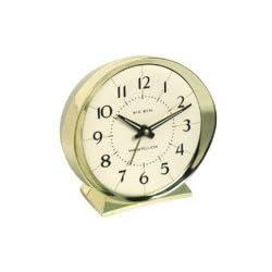 Westclox Goldtone Alarm Clock
