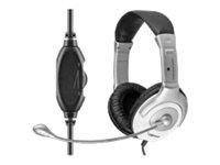 Cabstone+ Gaming-Headset schwarz/silber