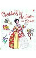 Clothes and Fashion to Color (Patterns to Color)