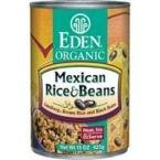 Organic, Mexican Rice & Beans, Lundberg Brown Rice and Black Beans, 15 oz (425 g) by Eden Foods