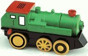 Railway Express Battery Powered Engine Fits Wooden Thomas Train