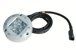"12 Watt Military Infrared Led Brake Light - Covert 940Nm - Compact 4.25"" Round Housing - Stop Lights"