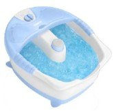 Conair True Massaging Foot Bath With Bubbles And Heat, White