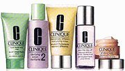 Clinique Daily essentials Set 5pc 5 Pcs Set Dramatically Different Moisturizing Gel + All About Eyes 0.5 oz + Liquid Facial Soap 1 oz + Clarifying Lotion 2 2oz + Take The Day Off Make Up