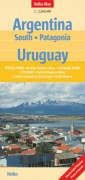 Argentina South and Uruguay Nelles Map (Nelles Maps)