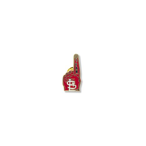 MLB St. Louis Cardinals #1 Fan Pin at Amazon.com