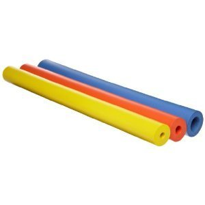 Closed-Cell Foam Tubing - For building up tool and utensil handles and increasing softness - Assortment of Bright Colors - Pack of 6