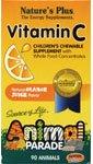 Nature'S Plus - Animal Parade Vit C-Orange, 250 Mg, 90 Chewable Tablets