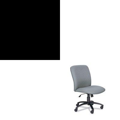 Kithon514Ppsaf3490Gr - Value Kit - Safco Uber Series Big Amp;Amp; Tall Swivel/Tilt High Back Chair (Saf3490Gr) And The Hon Company Hon 510 Series 4-Drawer Vertical File, Black (Hon514Pp) front-837597