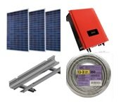 Ensupra Solar Power Grid Tie Kits 5040 Watts