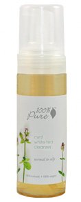 100% Percent Pure Mint White Tea Facial Foam Cleanser - Normal to Oily Skin