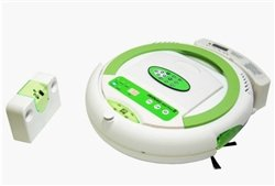 Infinuvo CleanMate QQ-2 PLUS II Robotic Vacuum Cleaner with Sonic Wall, Scheduler, Home Charing Base & LED Display from Metapo