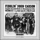 echange, troc Fiddlin John Carson - 1925-1926 III
