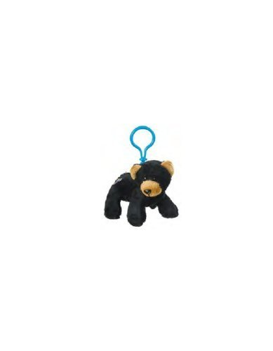 1 X WE000693 Webkinz Kinz Klip Black Bear by Ganz - 1