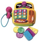 Barney PLEASE & THANK YOU CASH REGISTER [Toy] - Buy Barney PLEASE & THANK YOU CASH REGISTER [Toy] - Purchase Barney PLEASE & THANK YOU CASH REGISTER [Toy] (Fisher-Price, Toys & Games,Categories,Pretend Play & Dress-up,Sets,Cooking & Housekeeping,Grocery Shopping)