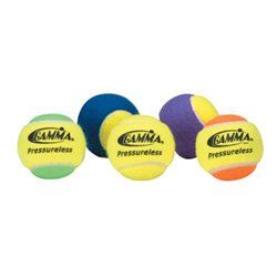 Buy Gamma 60 Pack Pressureless Tennis Balls (Yellow Orange) by Gamma