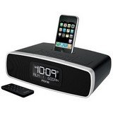 iHome-iP90BZ Dual Alarm Clock Radio with AM/FM Presets and Dock for iPod and iPhone