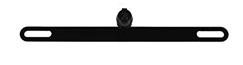 YINUO TB-01 License Plate Mount Rear View Backup Reverse Camera Night Vision Waterproof Cam, Black Zinc-Chrome