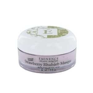 Click to read our review of Beauty Product Reviews: Hyaluronic Acid Rhubarb Strawberry Masque with HA!