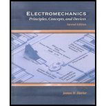 img - for Electromechanics: Principles, Concepts and Devices (2nd Edition) [Paperback] [2002] 2 Ed. James Harter book / textbook / text book